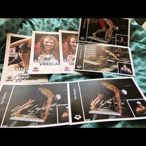 USA SWIMMING AUTOGRAPHS